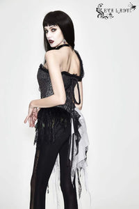 Eva Lady Gothic Corset Top - Kate's Clothing