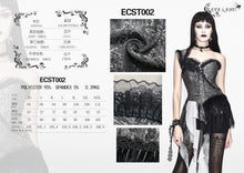 Load image into Gallery viewer, Eva Lady Gothic Corset Top - Kate's Clothing