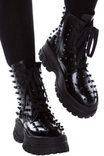 Load image into Gallery viewer, Killstar Empire Studded Boots - Kate's Clothing