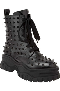 Killstar Empire Studded Boots - Kate's Clothing