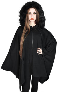 Killstar Enchanter Hooded Coat - Kate's Clothing