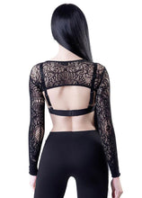 Load image into Gallery viewer, Killstar Eris Lace Bolero - Kate's Clothing