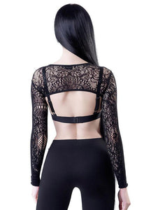 Killstar Eris Lace Bolero - Kate's Clothing