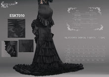 Load image into Gallery viewer, Eva Lady Gothic Fishtail Maxi Skirt - Kate's Clothing