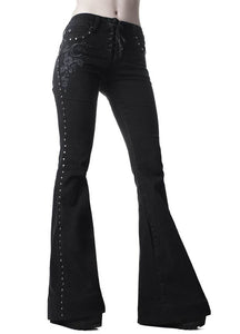 Killstar Evanora Flares - Kate's Clothing