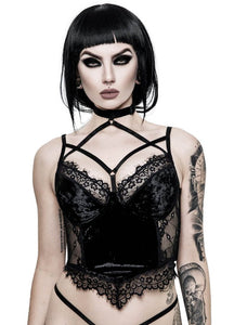 Killstar Ever Ayla Lace Bralet - Kate's Clothing