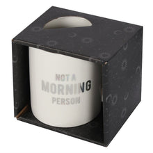 Load image into Gallery viewer, Gothic Gifts Not A Morning Person Mug - Kate's Clothing