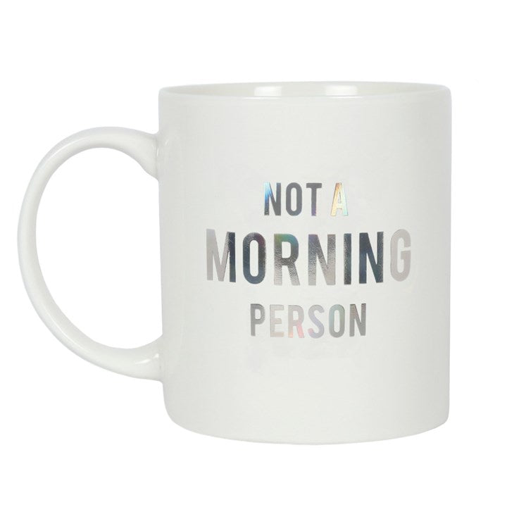 Gothic Gifts Not A Morning Person Mug - Kate's Clothing