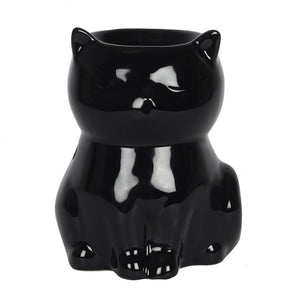 Gothic Gifts Black Cat Oil Burner - Kate's Clothing