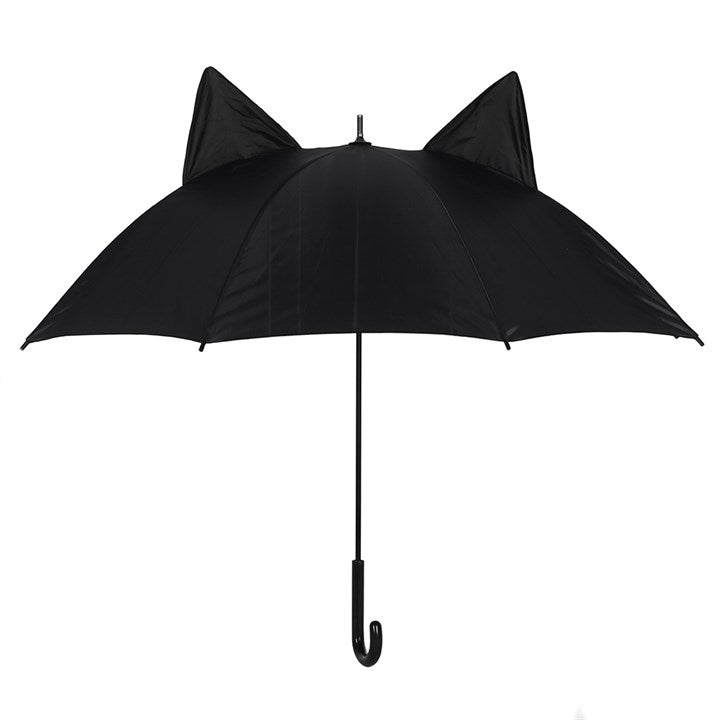 Gothic Gifts Black Cat Umbrella - Kate's Clothing