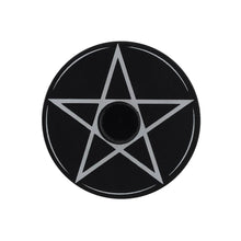 Load image into Gallery viewer, Gothic Gifts Pentagram Spell Candle Holder - Kate's Clothing