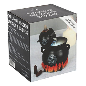 Gothic Gifts Pouring Cauldron Backflow Incense Burner - Kate's Clothing