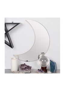 Gothic Gifts Crescent Moon Mirror - Kate's Clothing