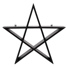 Load image into Gallery viewer, Gothic Gifts Set of Two Pentagram Wall Art - Kate's Clothing