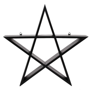 Gothic Gifts Set of Two Pentagram Wall Art - Kate's Clothing