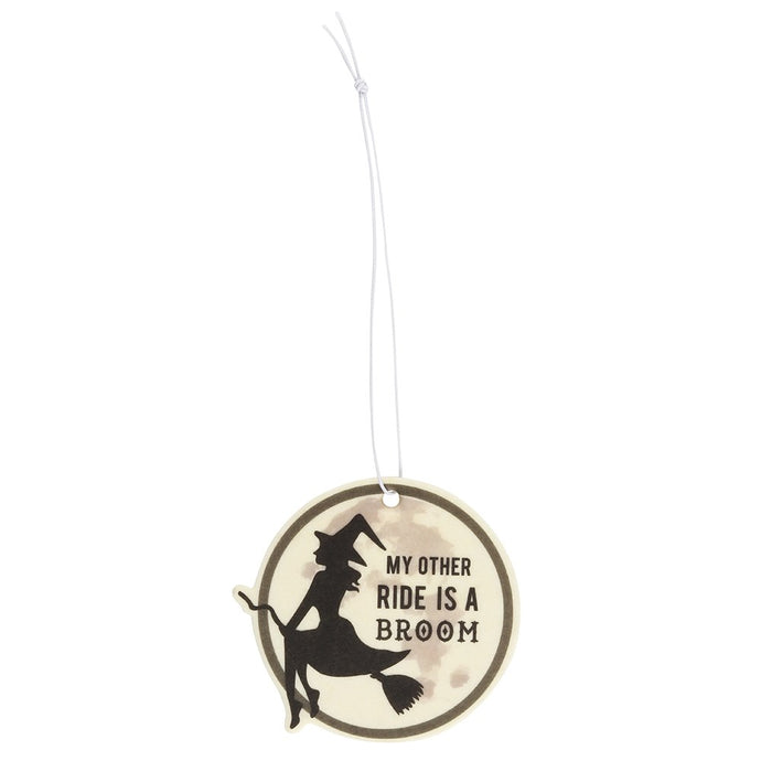 Gothic Gifts Witches Broom Air Freshener - Kate's Clothing