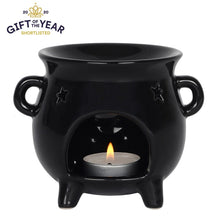 Load image into Gallery viewer, Gothic Gifts Cauldron Oil Burner - Kate's Clothing