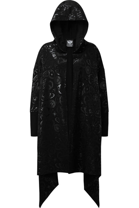 Killstar Plus Size Demon Hooded Cardigan - Kate's Clothing