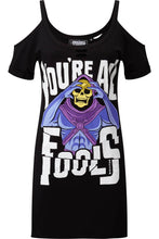 Load image into Gallery viewer, Killstar Skeletor Fools Distress Top - Kate's Clothing