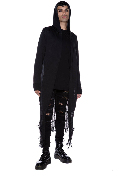 Killstar Freak Like Me Knit Cardigan Mens /Unisex - Kate's Clothing