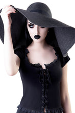 Load image into Gallery viewer, Killstar Orbit Sun Hat - Kate's Clothing