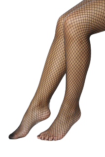 Gothic Attitude Black Fishnet Tights - Kate's Clothing