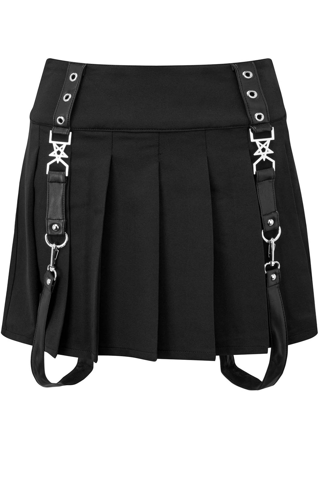 Killstar Grave Daze Mini Skirt Plus Size - Kate's Clothing