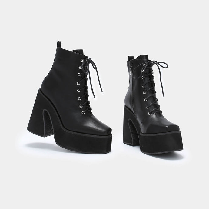 Koi Enchantra Heeled Lace Up Boots - Kate's Clothing