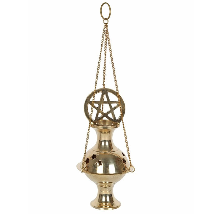 Gothic Gifts Pentagram Incense Censer - Kate's Clothing