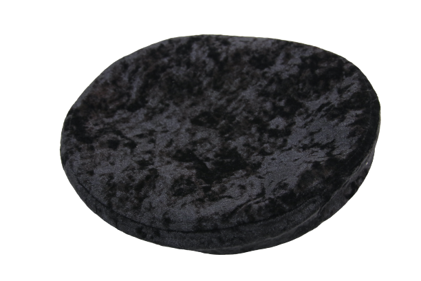Gothic Attitude Black Velvet Beret - Kate's Clothing