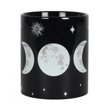 Load image into Gallery viewer, Gothic Gifts Triple Moon Mug - Kate's Clothing