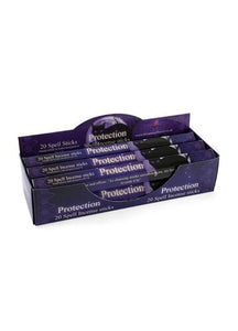 Gothic Gifts Protection Spell Incense Pack of 6 - Kate's Clothing