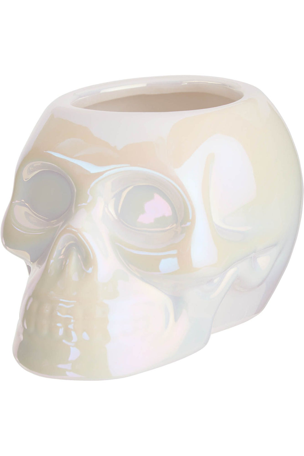 Killstar White Skull Planter - Kate's Clothing