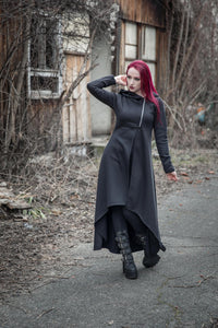 Necessary Evil Amphitrite Full Length Hoodie - Kate's Clothing