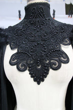 Load image into Gallery viewer, Eva Lady Velvet & Lace Cape - Kate's Clothing