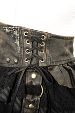 Load image into Gallery viewer, Devil Fashion Steampunk Mini Skirt - Kate's Clothing