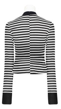 Load image into Gallery viewer, Punk Rave Tansy Stripe Top - Kate's Clothing