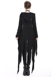 Dark In Love Gothic Crescent Moon Hoody - Kate's Clothing