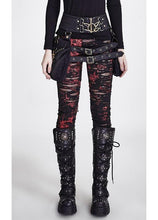 Load image into Gallery viewer, Punk Rave Gothalyptic Lara Leggings - Kate's Clothing