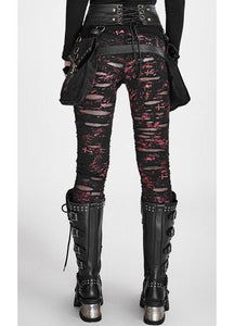 Punk Rave Gothalyptic Lara Leggings - Kate's Clothing