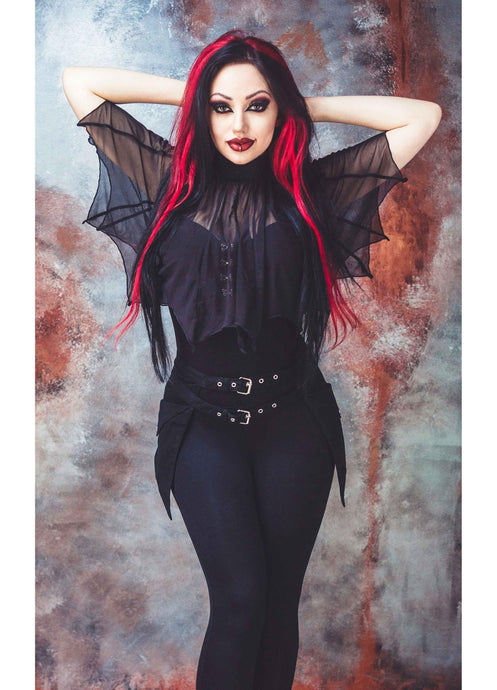 Necessary Evil Medeina Bat Wing Cape