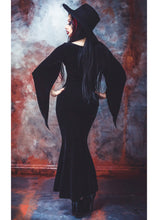 Load image into Gallery viewer, Necessary Evil Freya Velvet Maxi Dress
