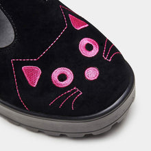 Load image into Gallery viewer, Koi Fuji Pink Cat Face Mary Janes - Kate's Clothing