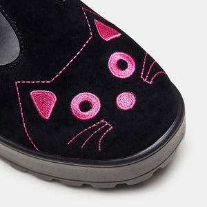 Koi Fuji Pink Cat Face Mary Janes - Kate's Clothing