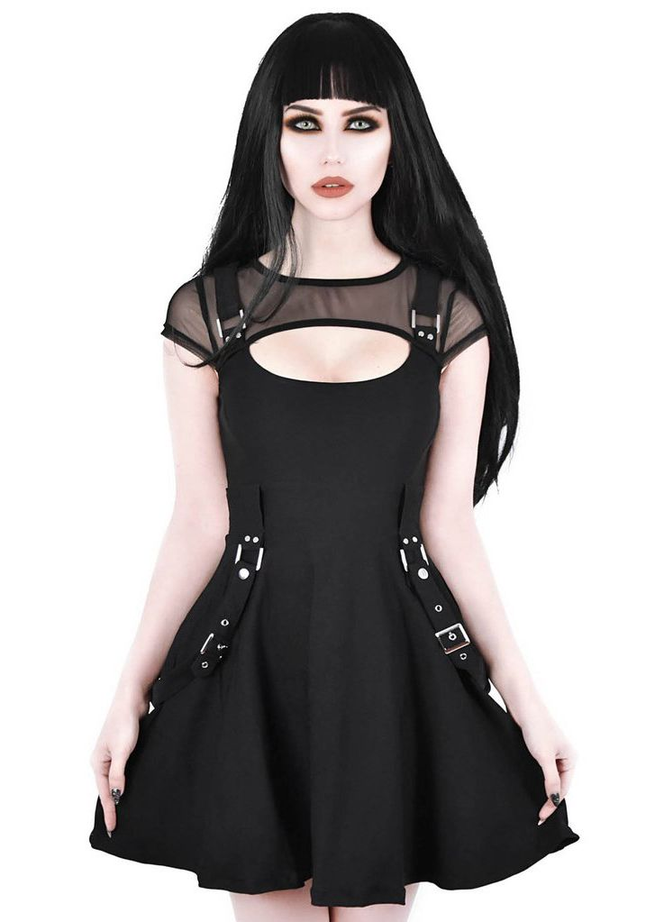Killstar Kounter Kulture Skater Dress - Kate's Clothing