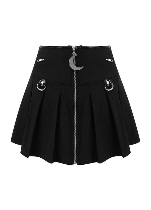 Killstar Kristen Pleated Mini Skirt - Kate's Clothing