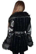 Load image into Gallery viewer, Killstar Krystina Faux-Fur Coat - Kate's Clothing