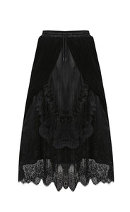 Dark In Love Arabella Black Maxi Skirt