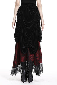 Dark In Love Arabella Red Maxi Skirt