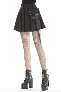 Dark In Love Lacerta Mini Skirt - Kate's Clothing